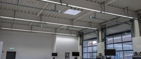 LED Lichtschienen-System Linear