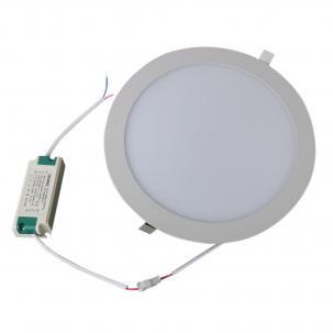 Rund - 15 Watt - LED Deckeneinbauleuchte